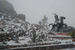 Meksyk - Pierwszy śnieg od 18 lat w stanie Coahuila -3