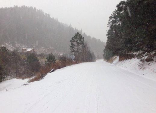 Meksyk - Pierwszy śnieg od 18 lat w stanie Coahuila -4