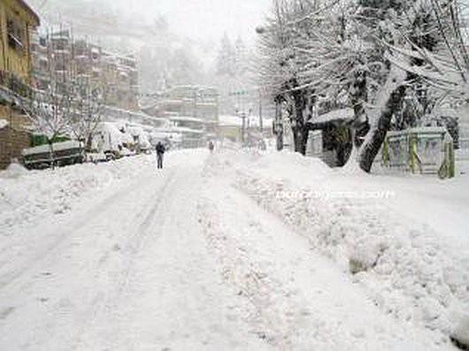Metr śniegu w Tunezji i nadal pada -10
