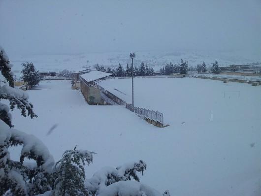 Metr śniegu w Tunezji i nadal pada