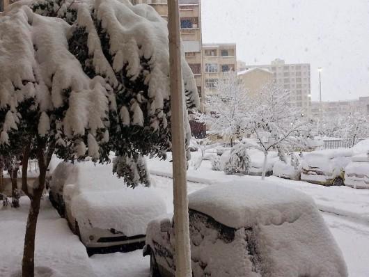 Metr śniegu w Tunezji i nadal pada -9