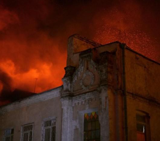 Moskwa, Rosja - W pożarze w zakładach tekstylnych zginęło 12 osób, w tym trójka dzieci