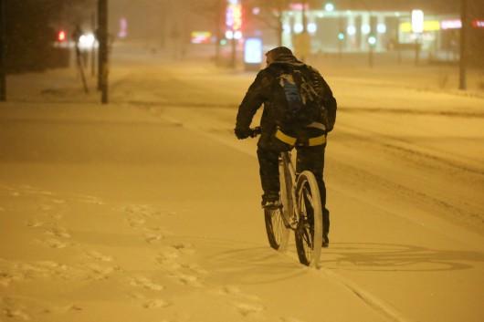 Niemcy - opady śniegu