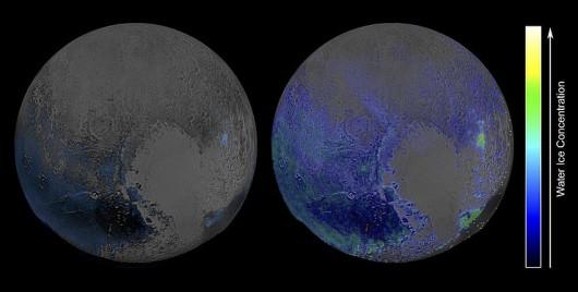 Obraz Plutona w podczerwieni /NASA/JHUIAPL