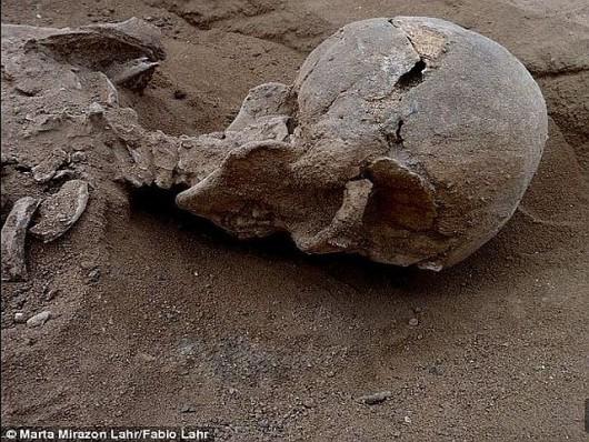 Ofiary masakry sprzed 10 000 lat