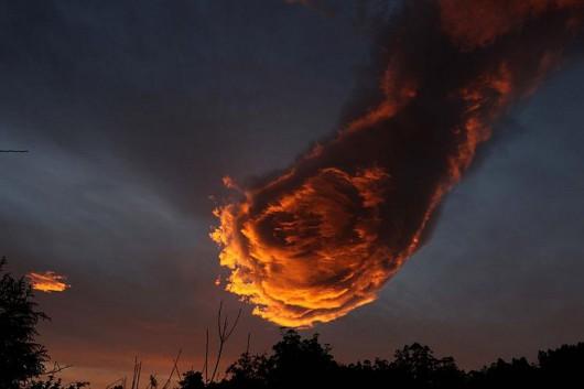 Portugalia - Formacja chmur -1