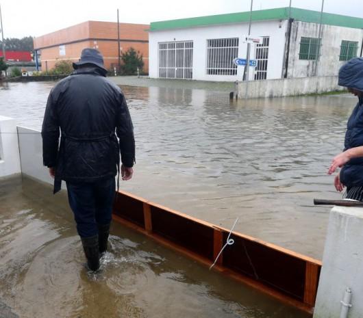 Portugalia - Podniósł się poziom trzech rzek i zalazły wiele budynków -7