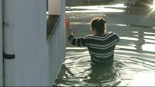 Portugalia - Podniósł się poziom trzech rzek i zalazły wiele budynków -8