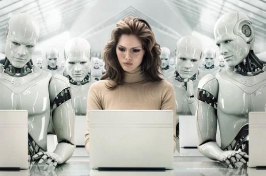 Roboty zastąpią ludzi w pracy