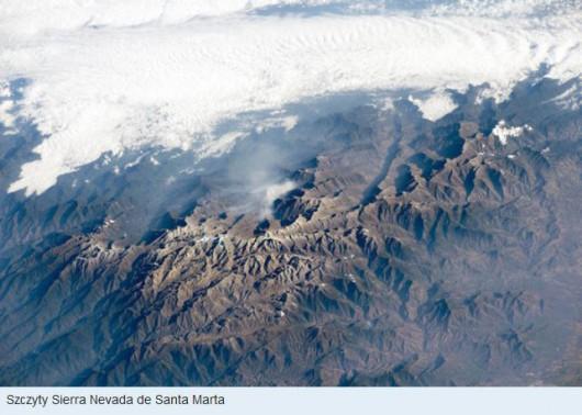 Szczyty Sierra Nevada de Santa Marta