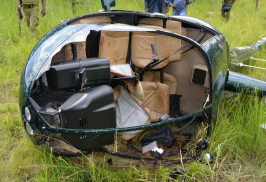 Tanzania - Handlarze kością słoniową zestrzelili brytyjski helikopter tropiący kłusowników