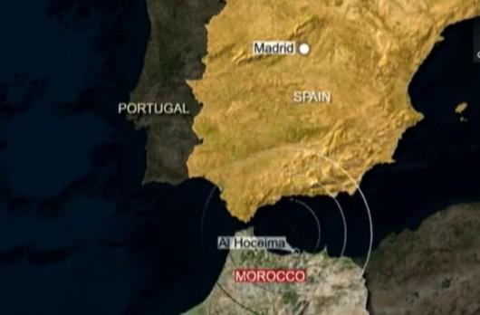 Trzęsienie ziemi między Hiszpanią a Marokiem