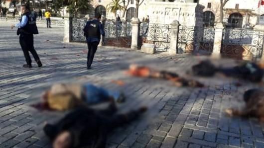 Turcja - Potężny wybuch na placu Sultanahmet w Stambule -2