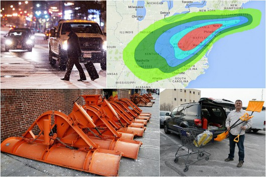 USA - W najbliższych godzinach wschodnie wybrzeże czeka potężna śnieżyca 4