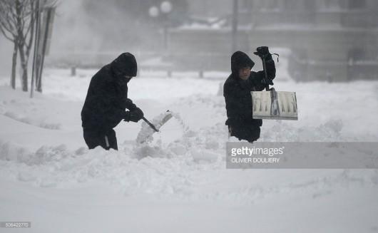 USA - Z powodu śnieżycy ogłoszono stan wyjątkowy w 11 stanach