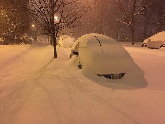 USA - Z powodu śnieżycy ogłoszono stan wyjątkowy w 11 stanach -8