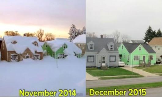 Anomalie pogodowe w grudniu 2015 r.