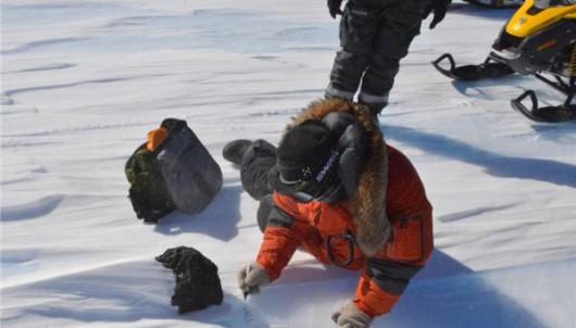 Antarktyda - Pod powierzchnią lodu prawdopodobnie znajduje się warstwa żelaznych meteorytów -3