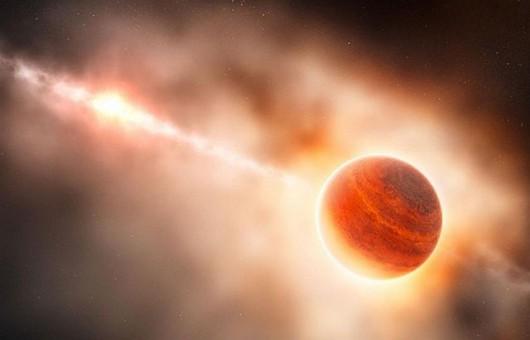 Artystyczna wizja egzoplanety HIP 11952
