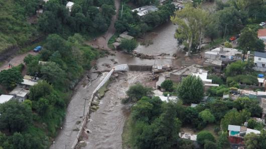 Cordoba, Argentyna - W 12 godzin spadło 320 lmkw deszczu -7