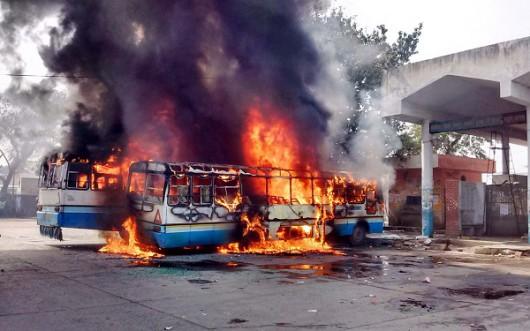 Delhi, Indie - Z powodu protestów ponad 10 milionów osób w stolicy bez wody -2