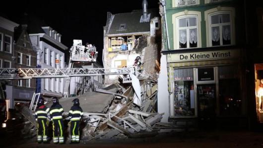 Den Bosch, Holandia - W centrum miasta zawaliła się kamienica
