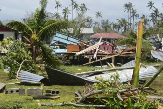 Fidżi - Jeden z najpotężniejszych cyklonów na półkuli południowej zabił co najmniej 5 osób -1