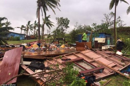 Fidżi - Jeden z najpotężniejszych cyklonów na półkuli południowej zabił co najmniej 5 osób -5