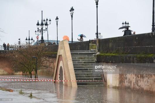 Francja - Zachód kraju pod wodą -3