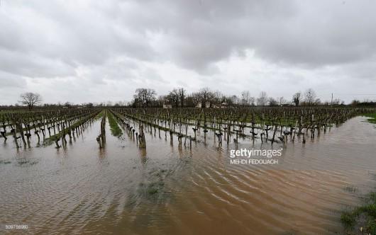Francja - Zachód kraju pod wodą -5