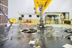 Lustro Kosmicznego Teleskopu Jamesa Webba  Foto: NASA