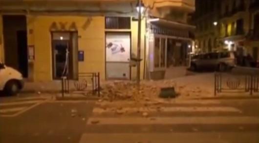 Melilla, Hiszpania - Zatrzęsła się ziemia i kilka budynków w mieście zostało poważnie uszkodzonych -2