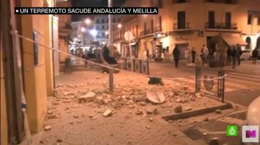Melilla, Hiszpania - Zatrzęsła się ziemia i kilka budynków w mieście zostało poważnie uszkodzonych -4