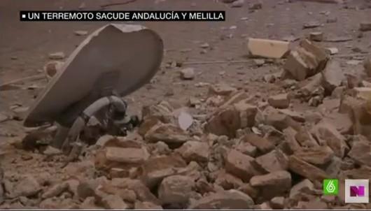 Melilla, Hiszpania - Zatrzęsła się ziemia i kilka budynków w mieście zostało poważnie uszkodzonych -5