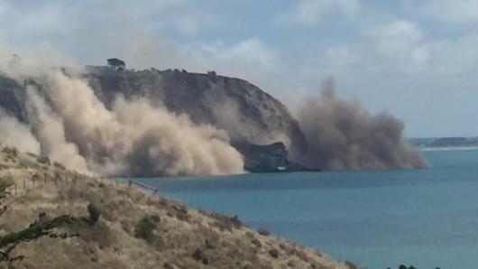 Nowa Zelandia - Płytkie trzęsienie ziemi o sile 5.8 w skali Richtera