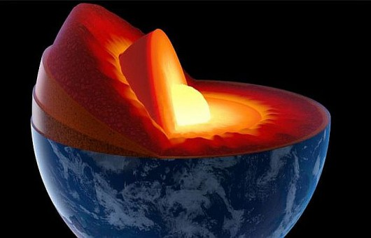 W płaszczu Ziemi odkryto olbrzymie ilości tlenu