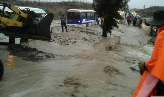Peru - Osiem godzin deszczu spowodowało ogromną powódź -2