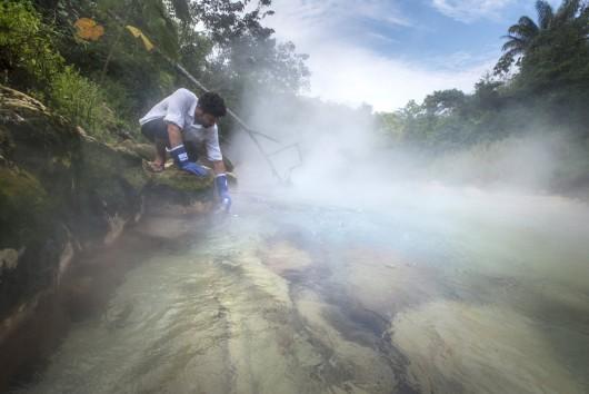 Peru - W lasach deszczowych Amazonii odkryto nadzwyczajną rzekę, która prawie się gotuje -2