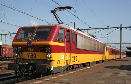 Pociąg NMBS - Belgia