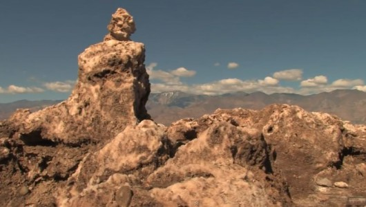 Pustynny obraz Kalifornii