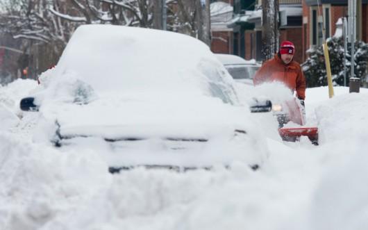 Quebec, Kanada - Przez burzę lodową 250 tysięcy osób było bez prądu -5