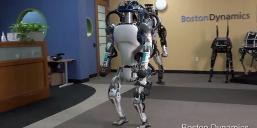 Robot Atlac - Boston Dynamics