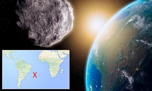 Szóstego lutego nad Atlantykiem eksplodował meteor, wybuch miał siłę porównywalną do 13 tysięcy ton trotylu