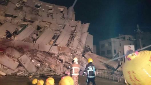 Tajwan - Trzęsienie ziemi o magnitudzie 6.4 -1