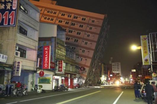 Tajwan - Trzęsienie ziemi o magnitudzie 6.4 -2