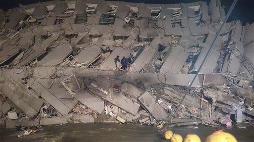 Tajwan - Trzęsienie ziemi o magnitudzie 6.4 -3