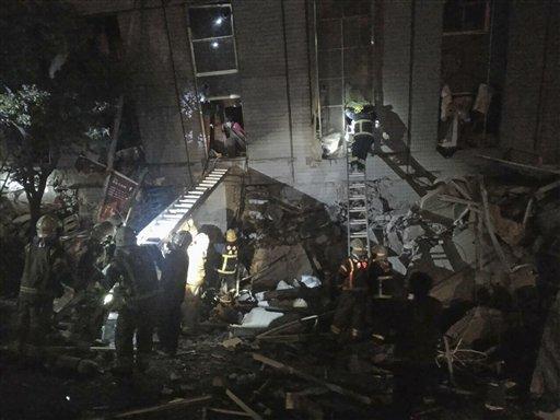 Tajwan - Trzęsienie ziemi o magnitudzie 6.4 -4