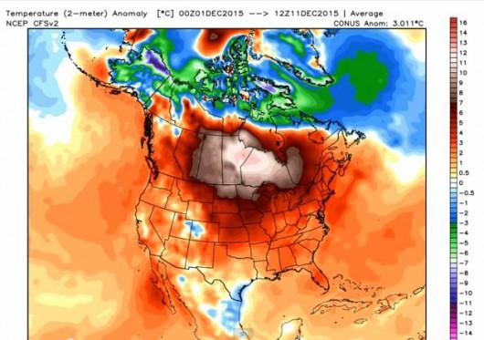 Temperatura w grudniu