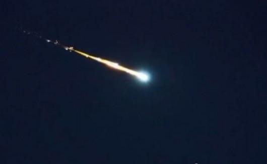 Upadek meteorytu w Indiach