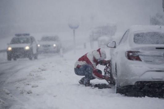 W Tunezji, Maroku, Algierii i Hiszpanii spadł śnieg -4